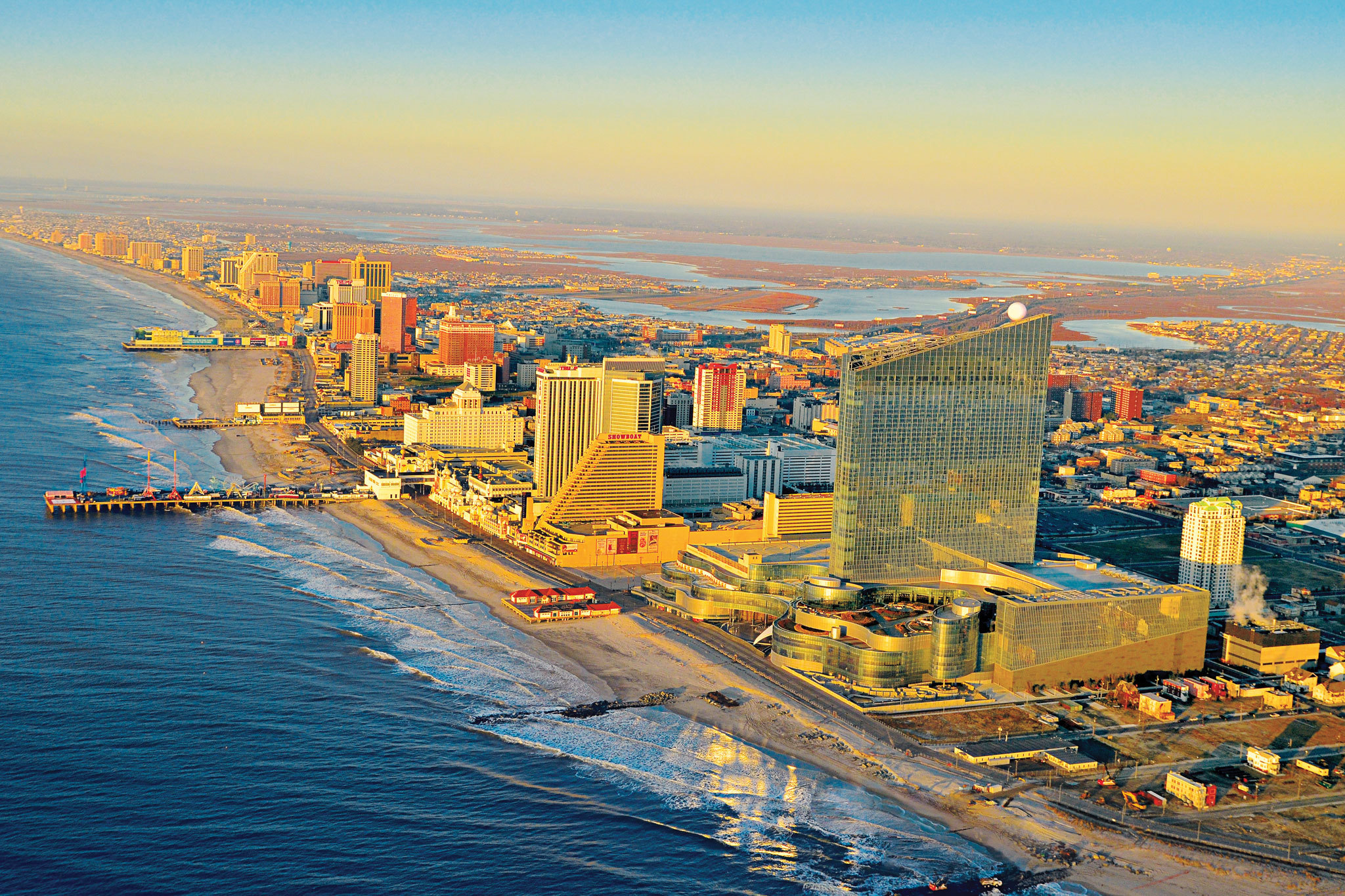 The #1 Best Value of 56 places to stay in Atlantic City. Free Wifi. Pool. Special offer. Hotel website. Caesars Atlantic City. Show Prices. #2 Best Value of 56 places to stay in Atlantic City. Free Wifi. Beachfront. Special offer. Hotel website. Resorts Casino Hotel. Show Prices. 77, reviews. #3 Best Value of 56 places to stay in Atlantic City.